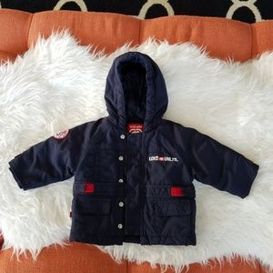 💙Ecko Unlimited 6mo Navy Blue Winter Jacket